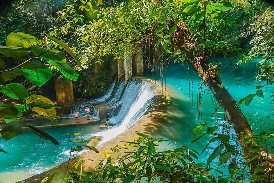 Cascate di Badian, Filippine