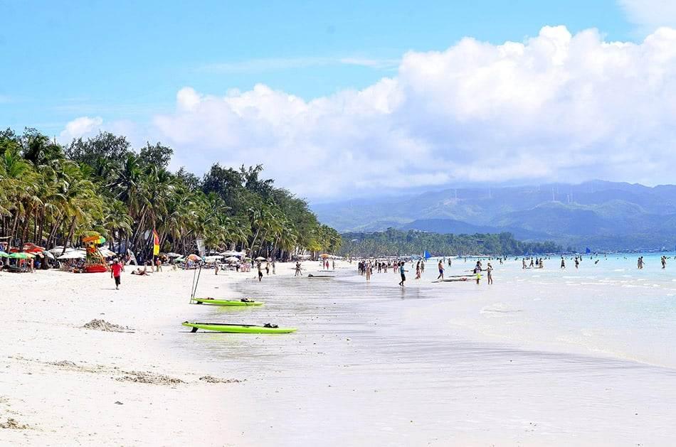 Boracay spiaggia bianca Filippine