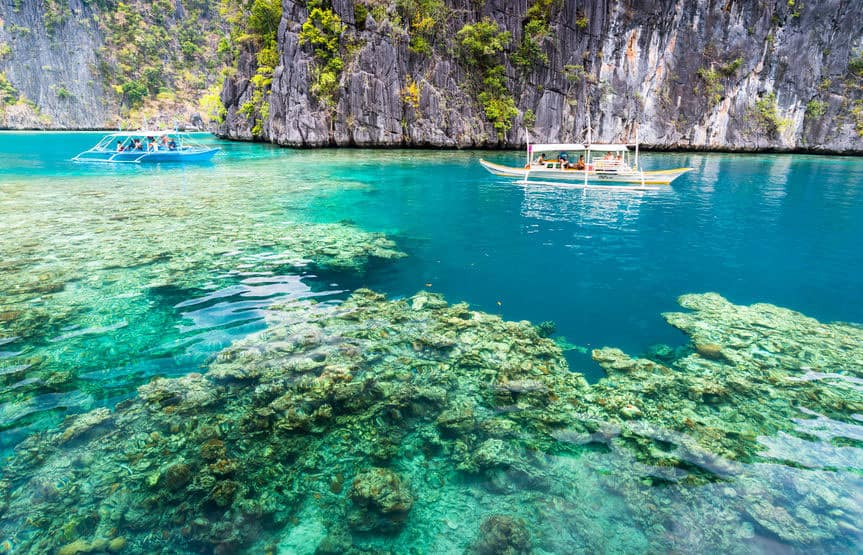 Lago-Kayangan-Laguna-Isola-di-Coron-Busuanga-Palawan