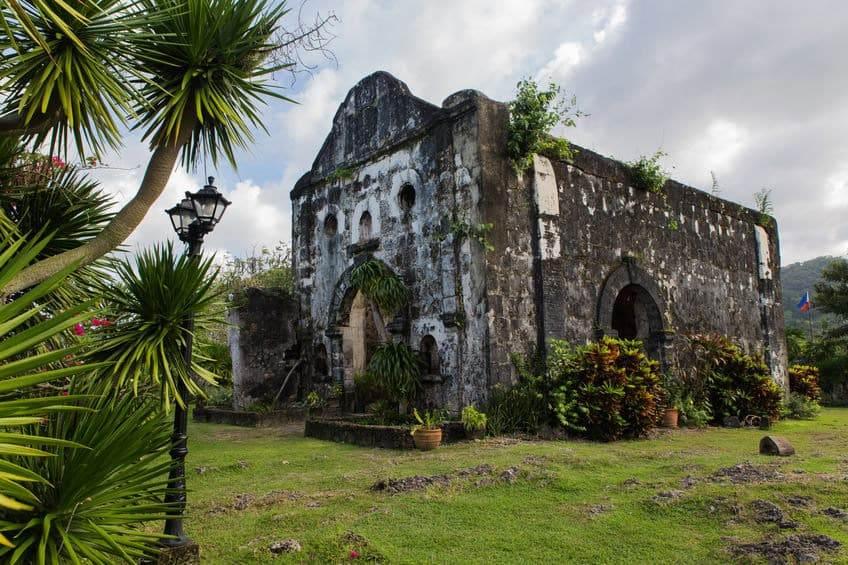 Vista dal forte di Santa Isabel a Taytay