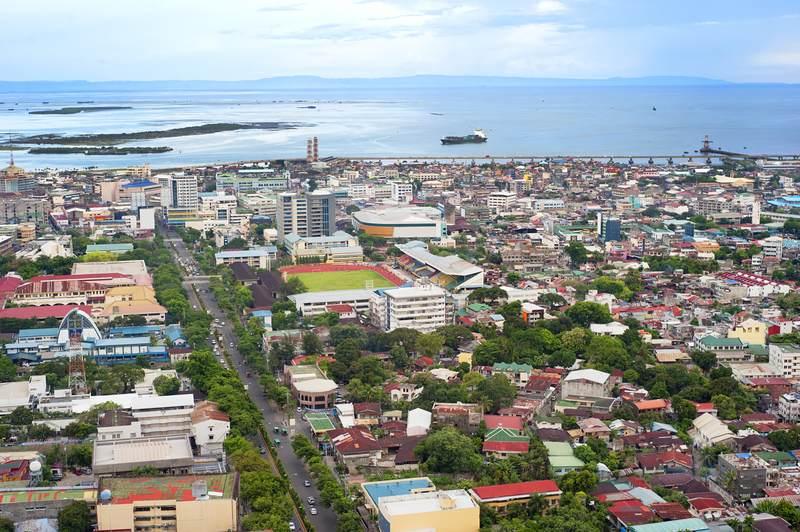Cebu City dall'alto