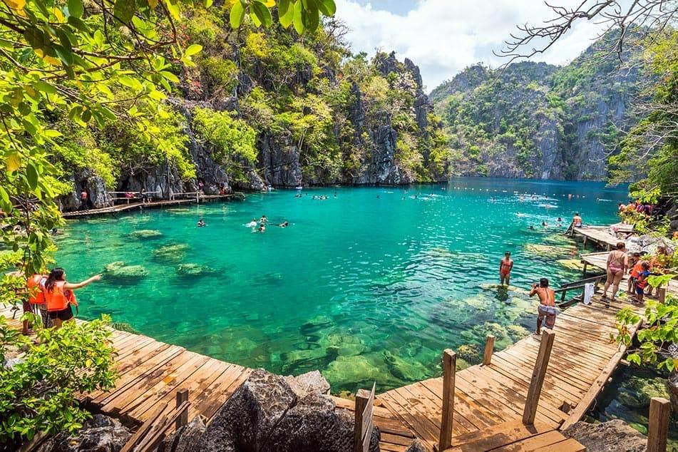 Kayangan Lake Coron, Filippine