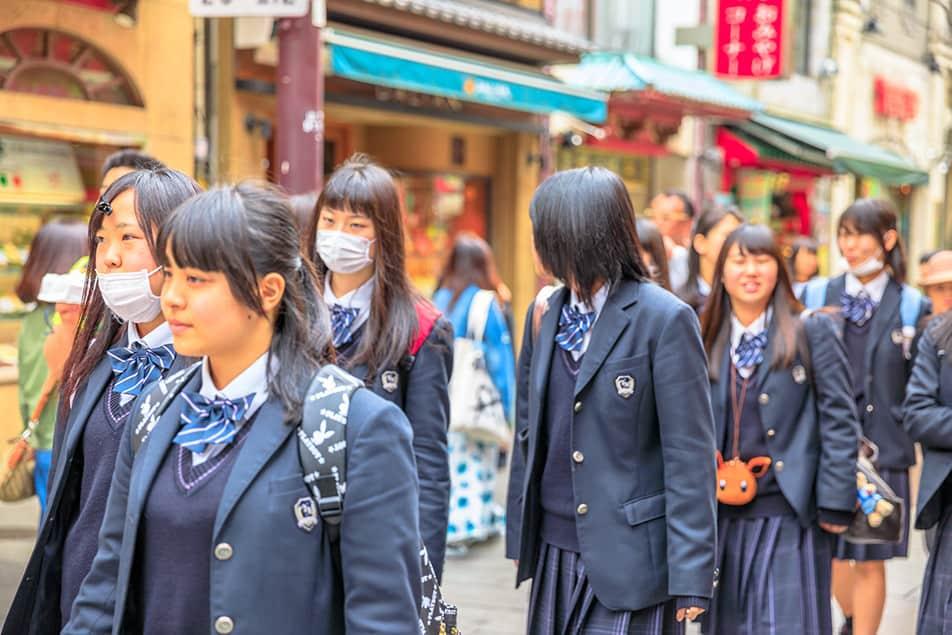 Prevenzione Corona Virus Studenti Giappone