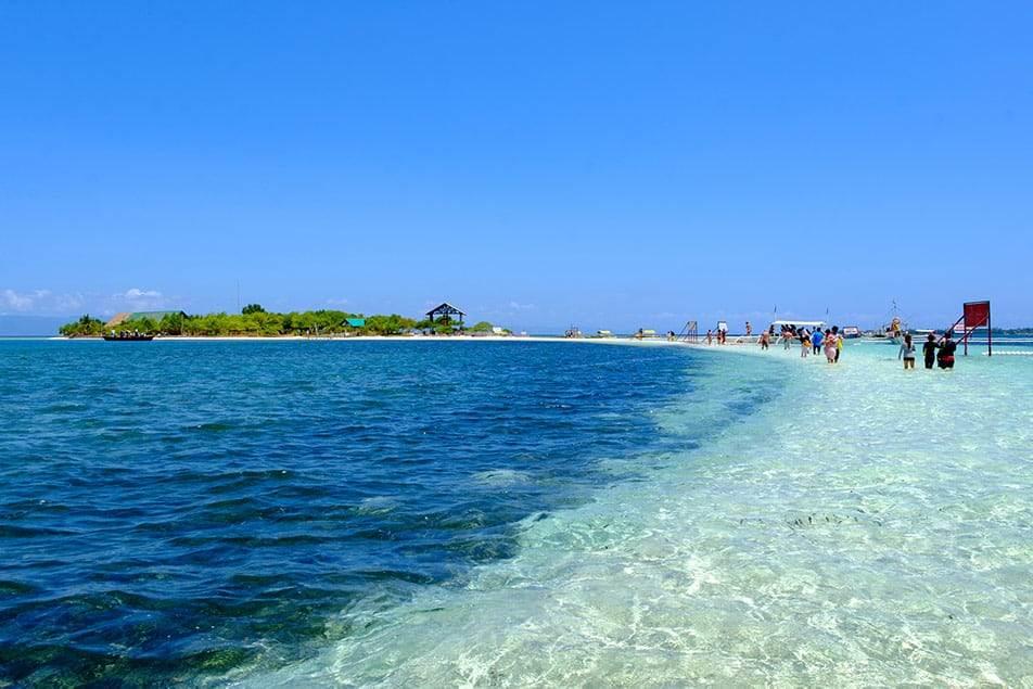 Spiaggia di Bohol Filippine