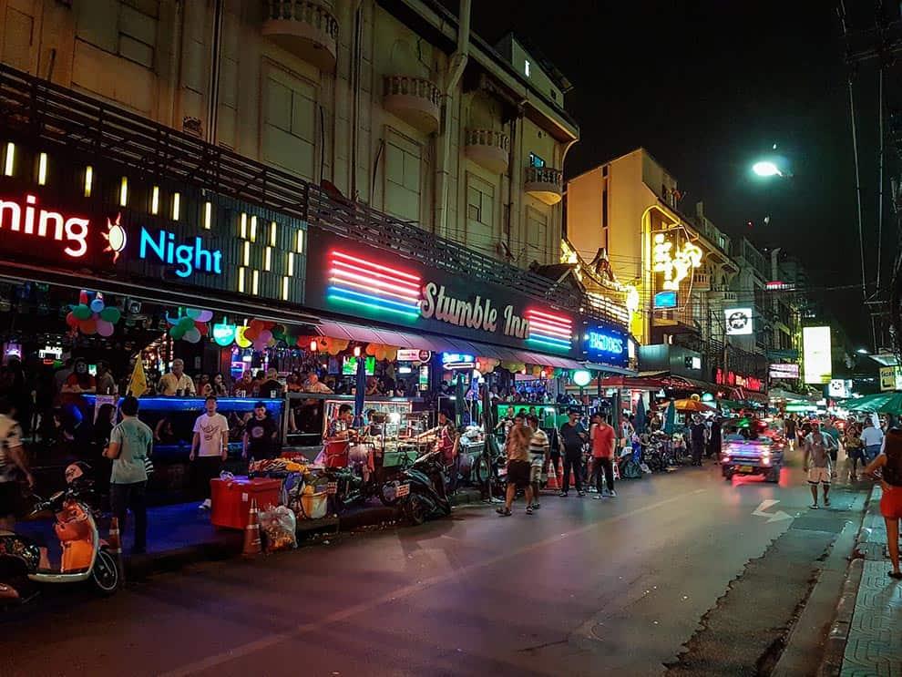 Via dei Negozi Bangkok, Thailandia
