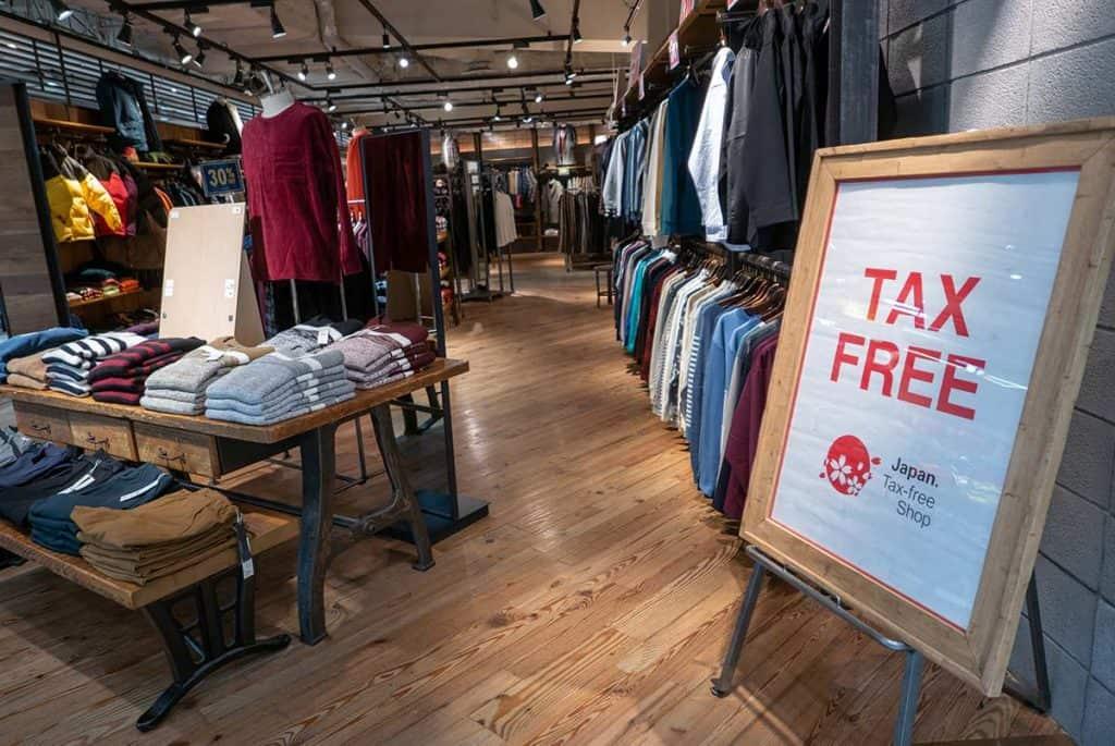 Come Funziona il Tax Free in Giappone?