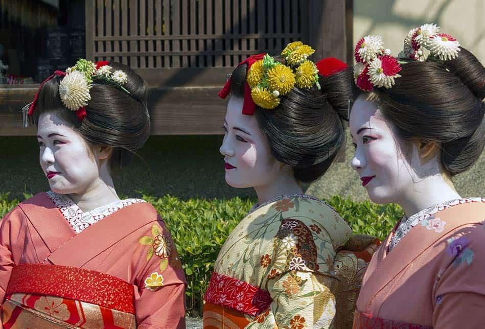 Dove si può incontrare una geisha