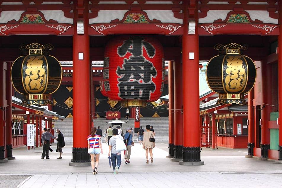 Asakusa: la Zona storica dei Templi