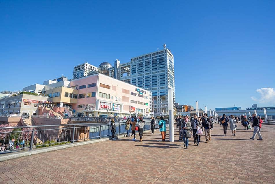 Odaiba: la nuova Tokyo
