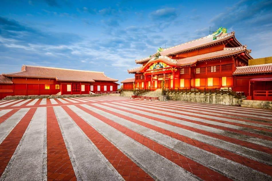 Castello di Shuri in Okinawa
