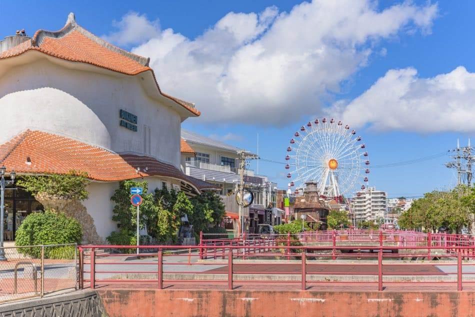 Chatan, Okinawa, Villaggio Americano