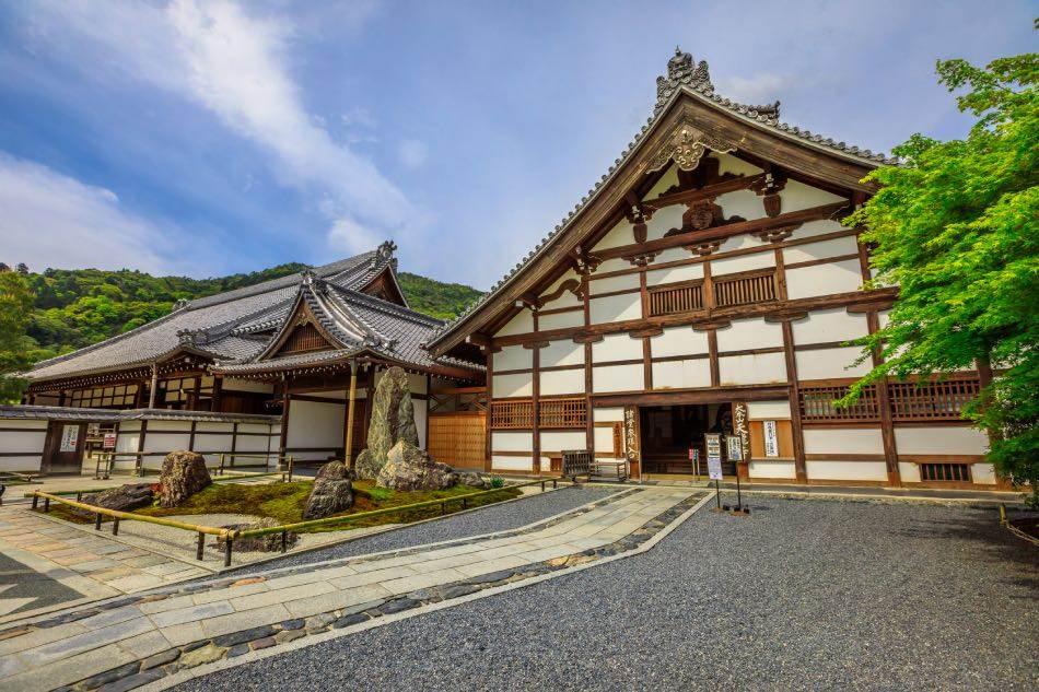 Kuri Temple Tenryuji Tempio Zen, Kyoto
