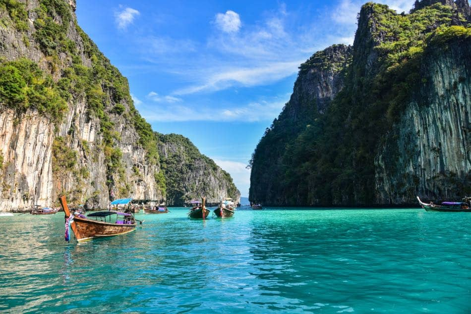Laguna di Pileh Ko Phi Phi Island