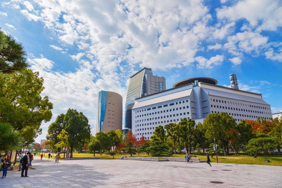 Museo di storia a Osaka