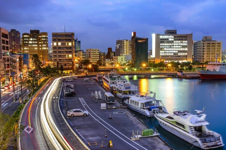 Paesaggio urbano di Naha, Okinawa