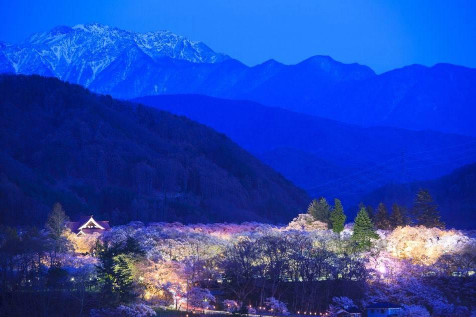 Takato Castle Site Park, Nagano
