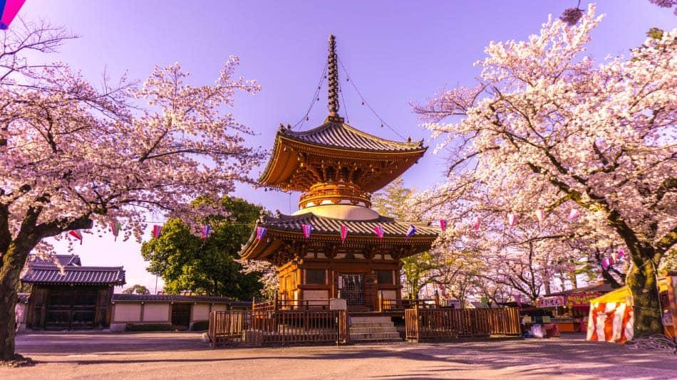 Tempio di Kitain in Primavera