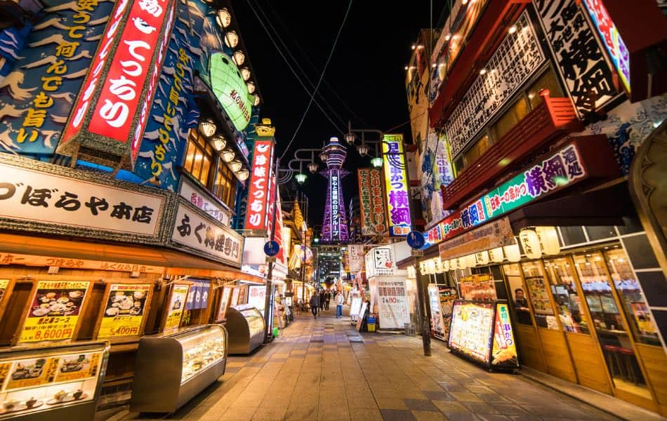 Via della Torre Tsutenkaku