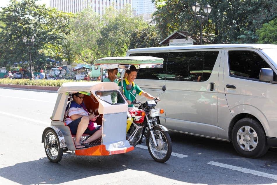 Triciclo Filippine