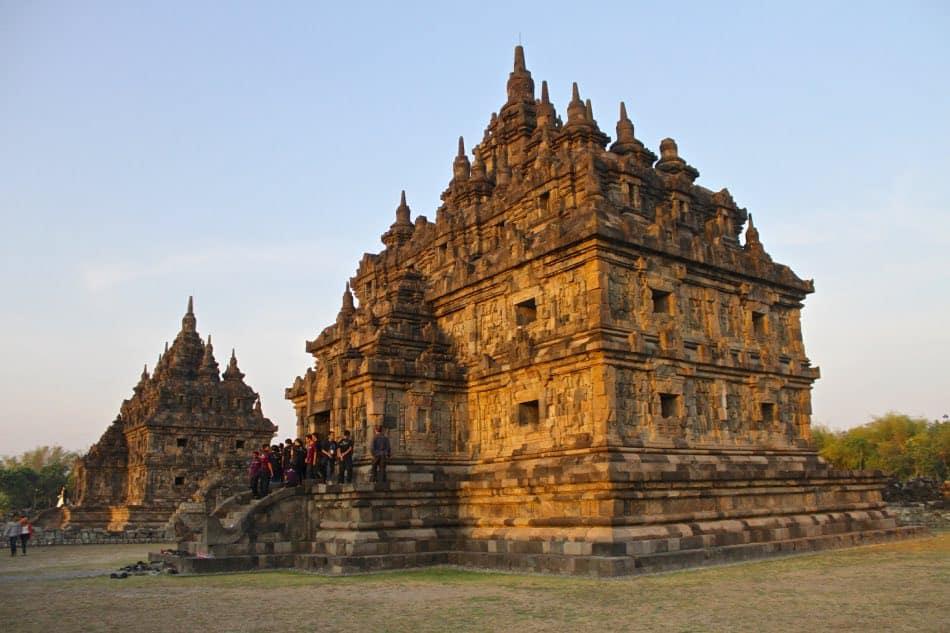 Candi Plaosan a Yogyakarta, Indonesia