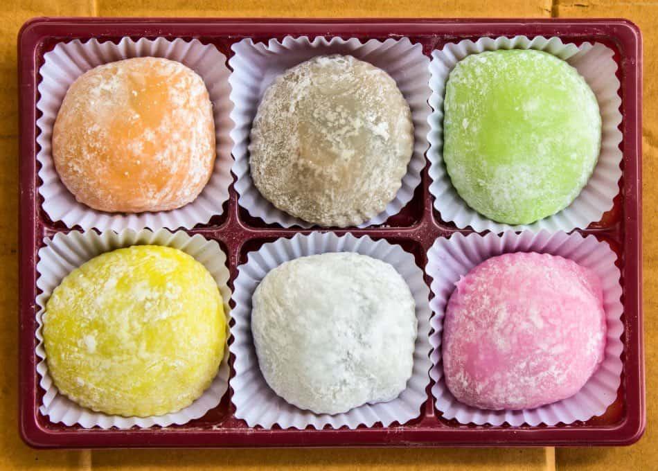Dessert di Mochi
