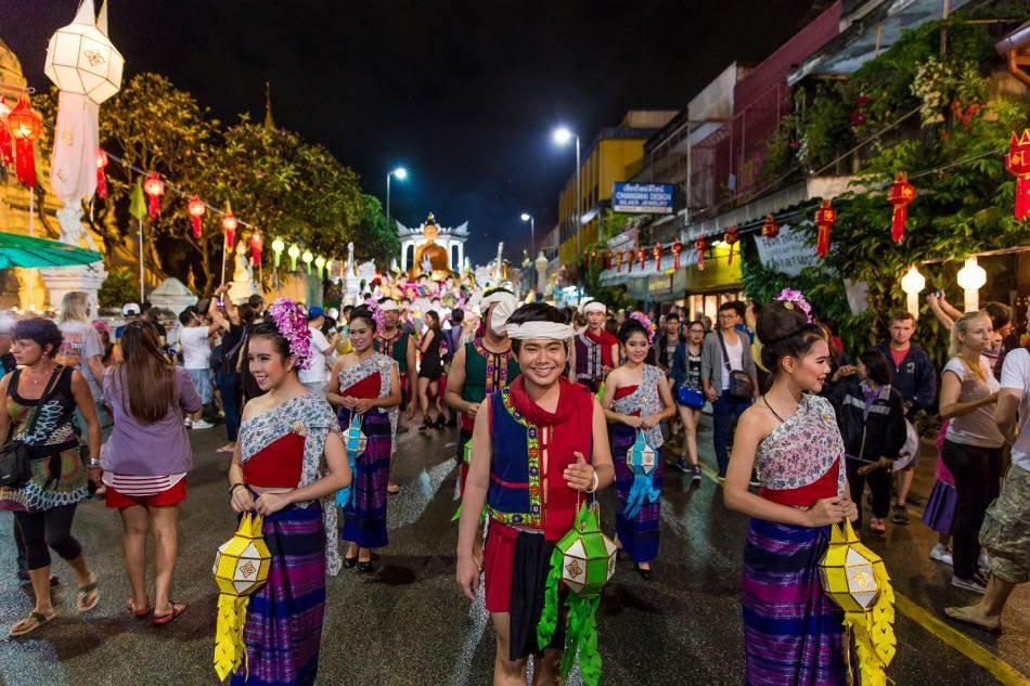 Festival di Loi Krathong, Chiang Mai