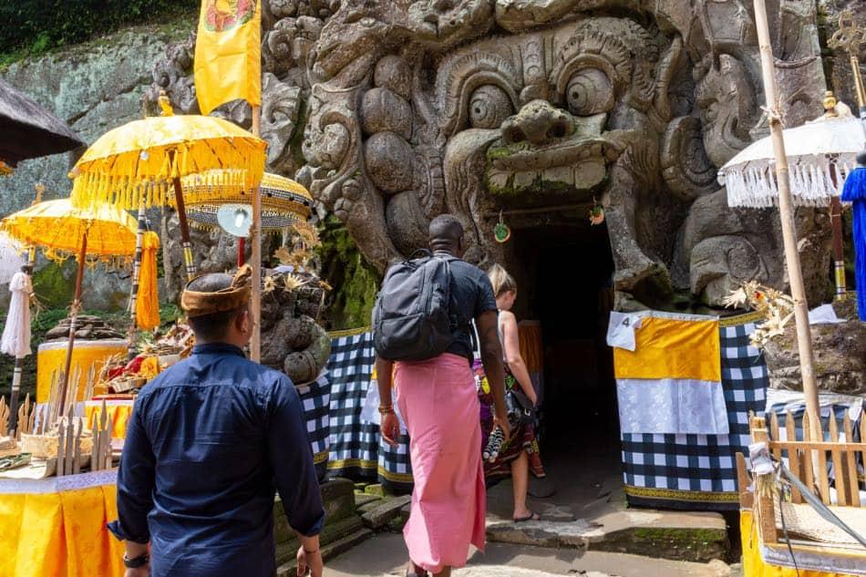 Goa Gajah (caverna dell'elefante)