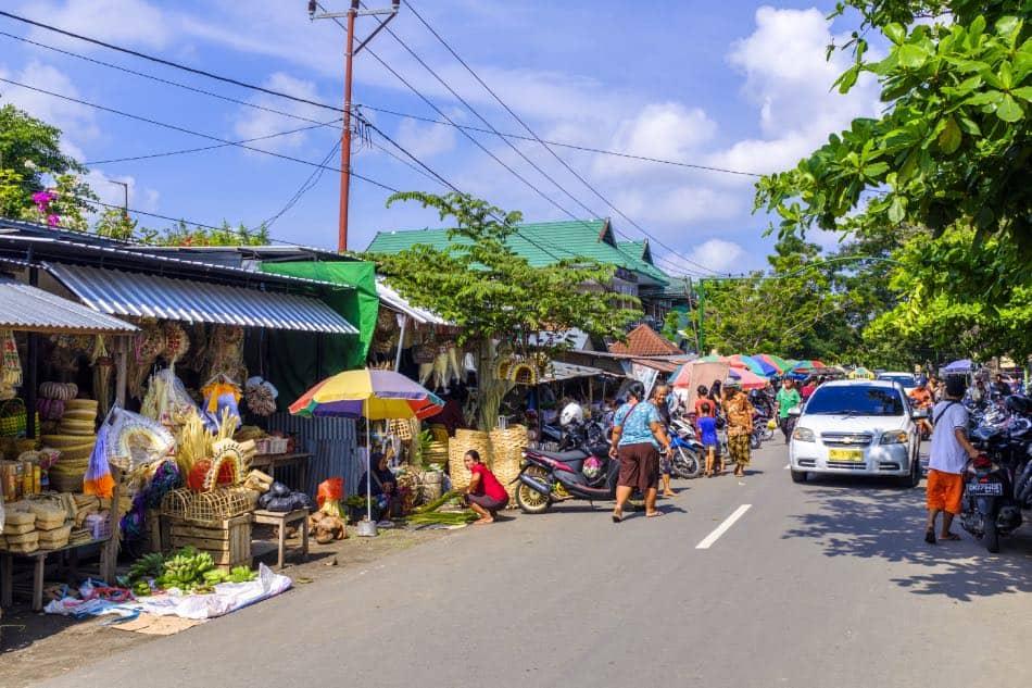 Mercato tradizionale, Mataram