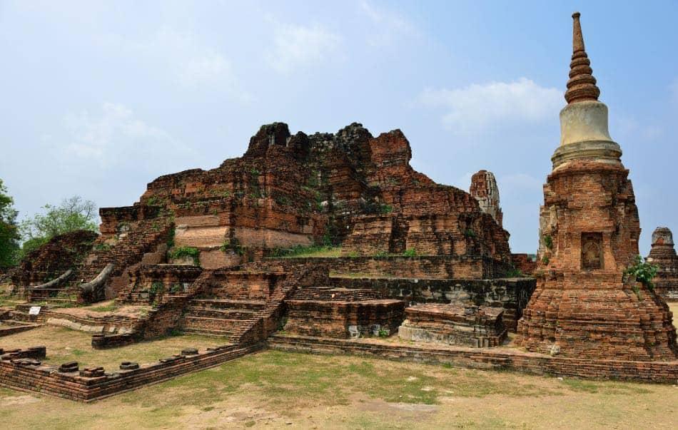 Rovine Tempio di Ayutthaya