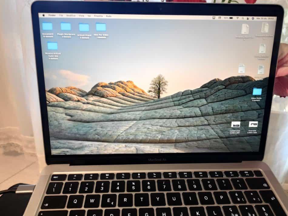 Schermo MacBook Air M1