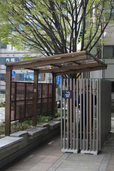 Area fumatori giappone