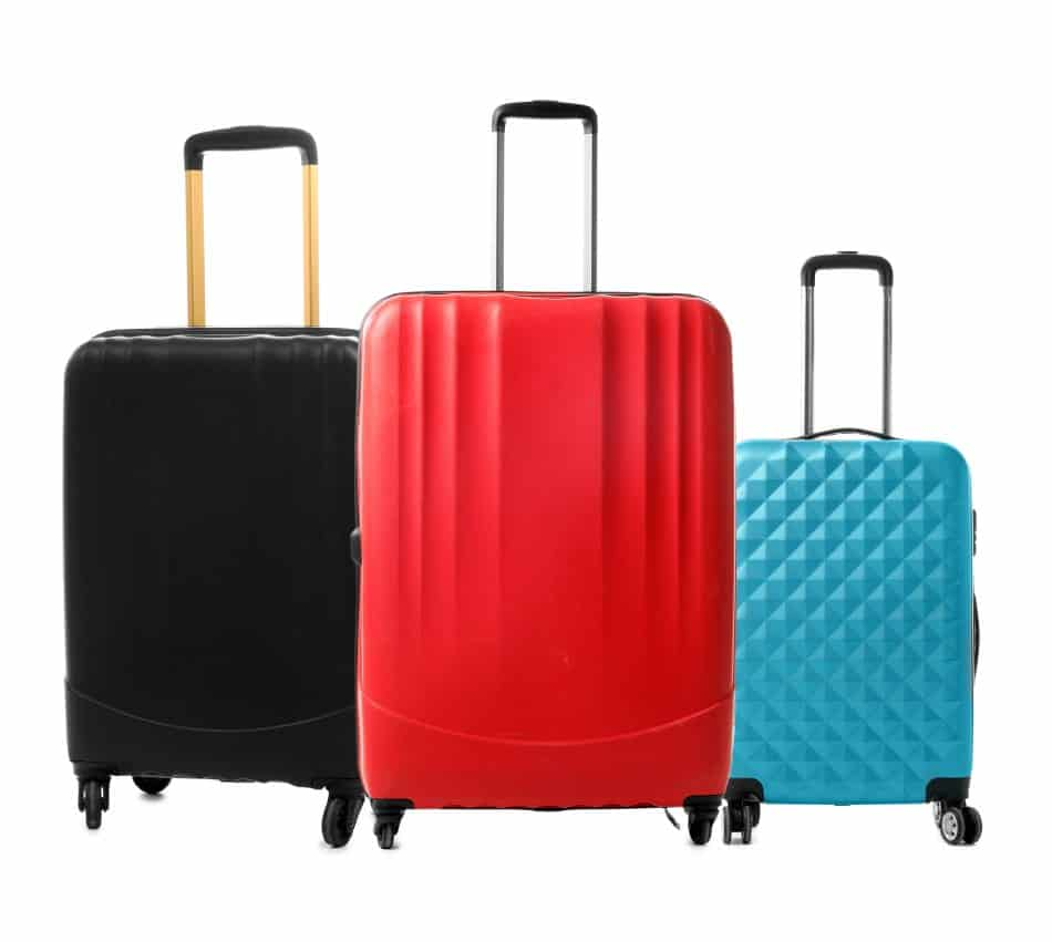 kit valigie per viaggiare