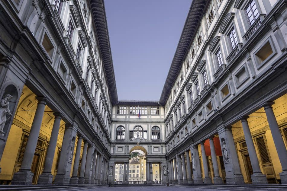 Galleria di Uffizi a Firenze