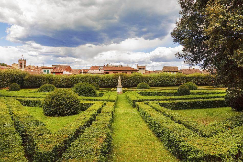San Quirico d'Orcia, Giardini